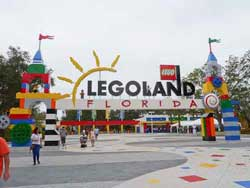 Legoland Theme Park in Haines City