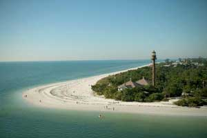 Lighthouse on Sanibel Island