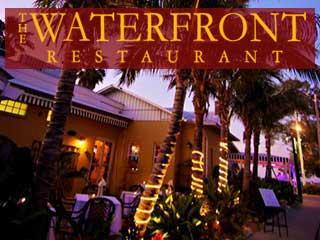 The Waterfront restaurant on Anna Maria Island