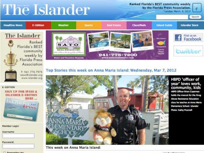 Islander Newspaper Holmes Beach Fl